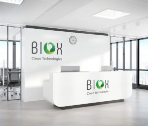 חבילת מיתוג לחברת BIOX טכנולוגיות חיטוי מתקדמות